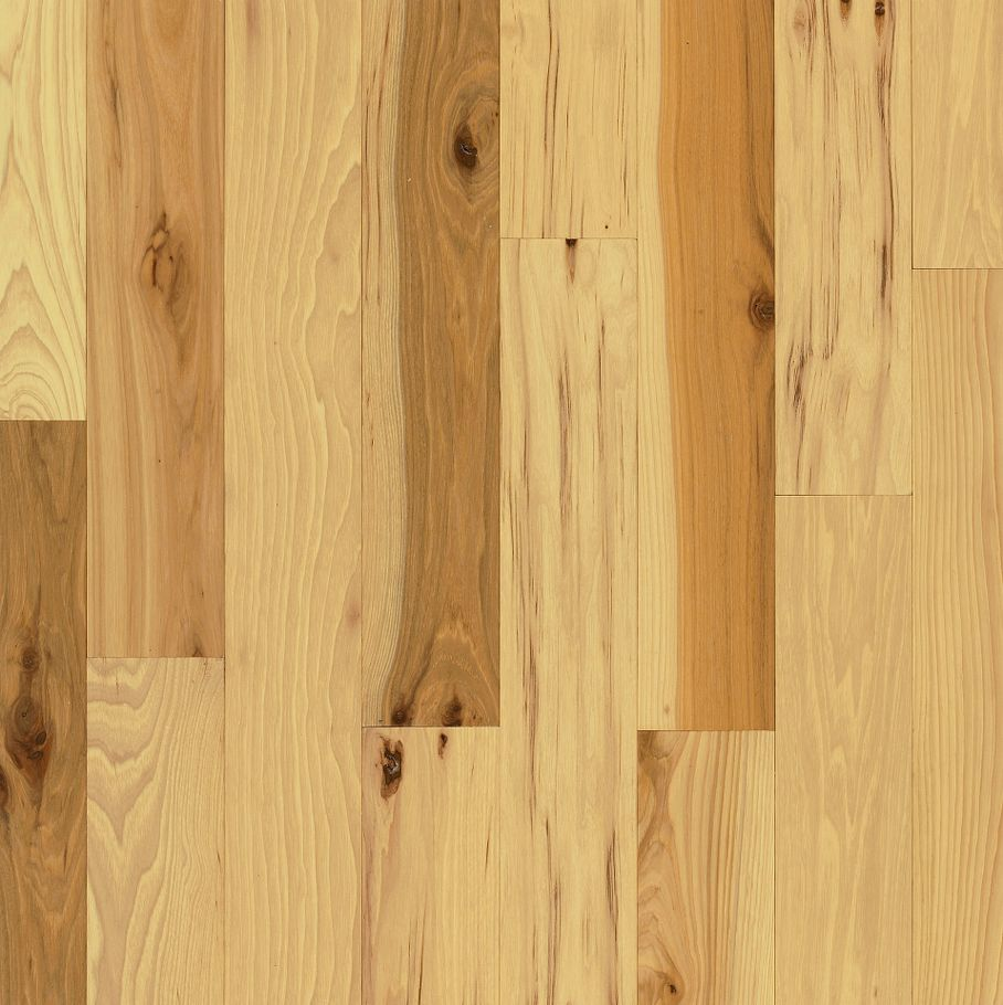Hickory Country Natural – Solid Hardwood