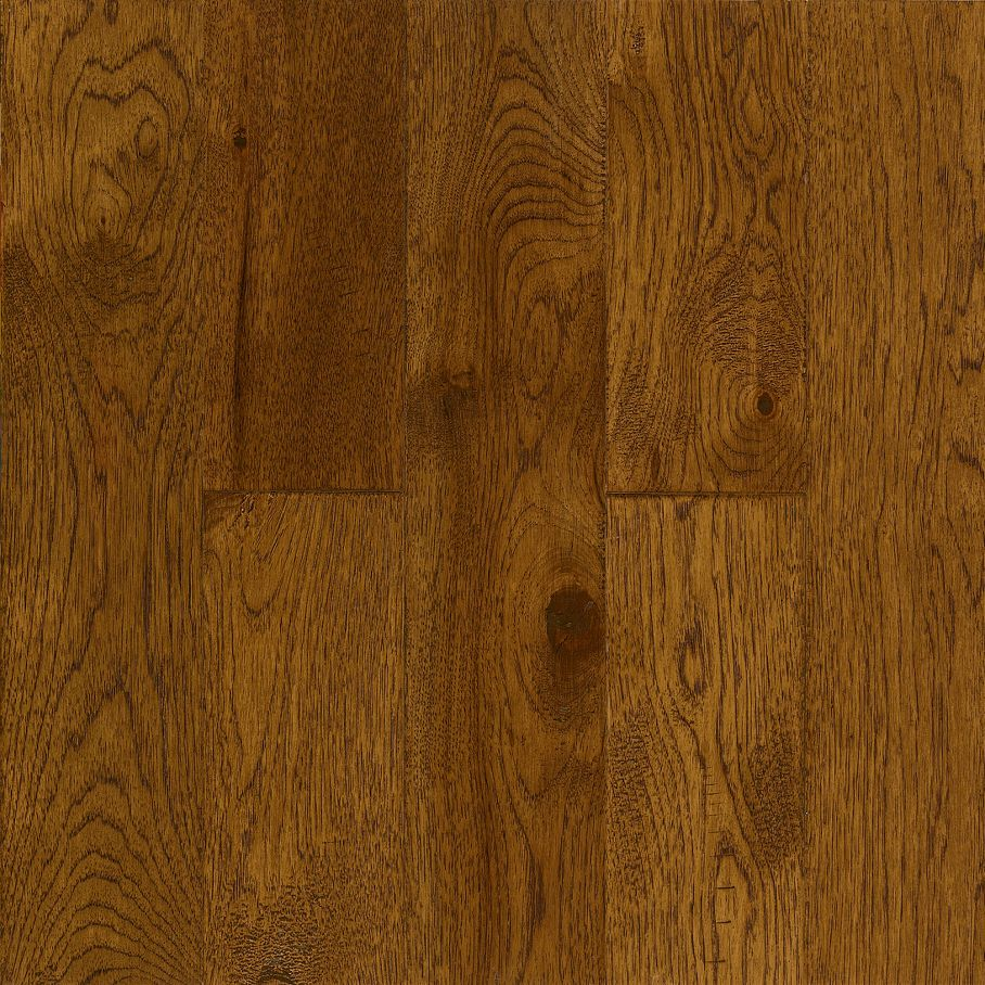 Hickory Golden Brown – Solid Hardwood