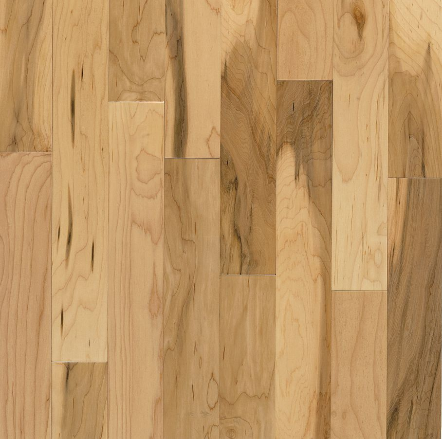 Maple Country Natural – Solid Hardwood