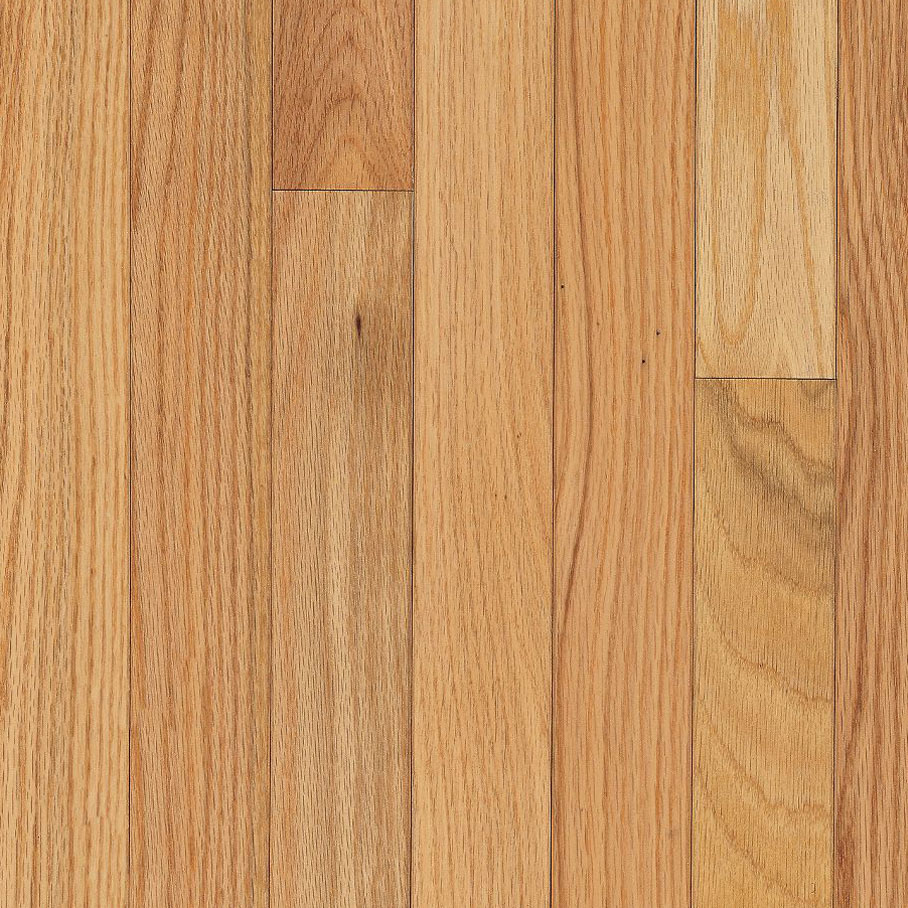 Red Oak Natural – Solid Hardwood