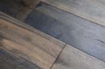 Elegant Home Solid Handscraped 5 Inch Heathered Oak BOG_6097