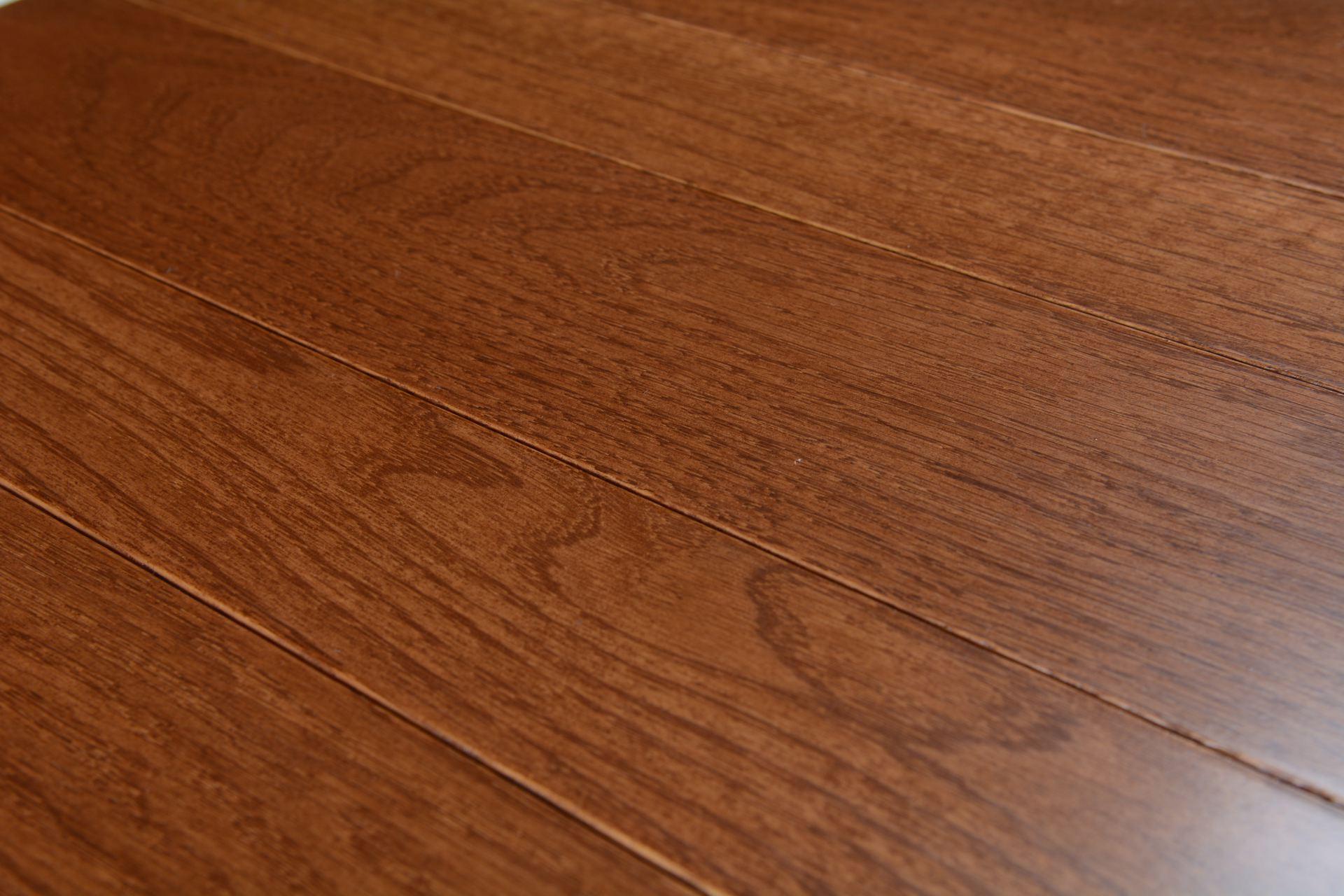 Somerset solid smooth color collection gunstock bog 6140 for Direct hardwood flooring
