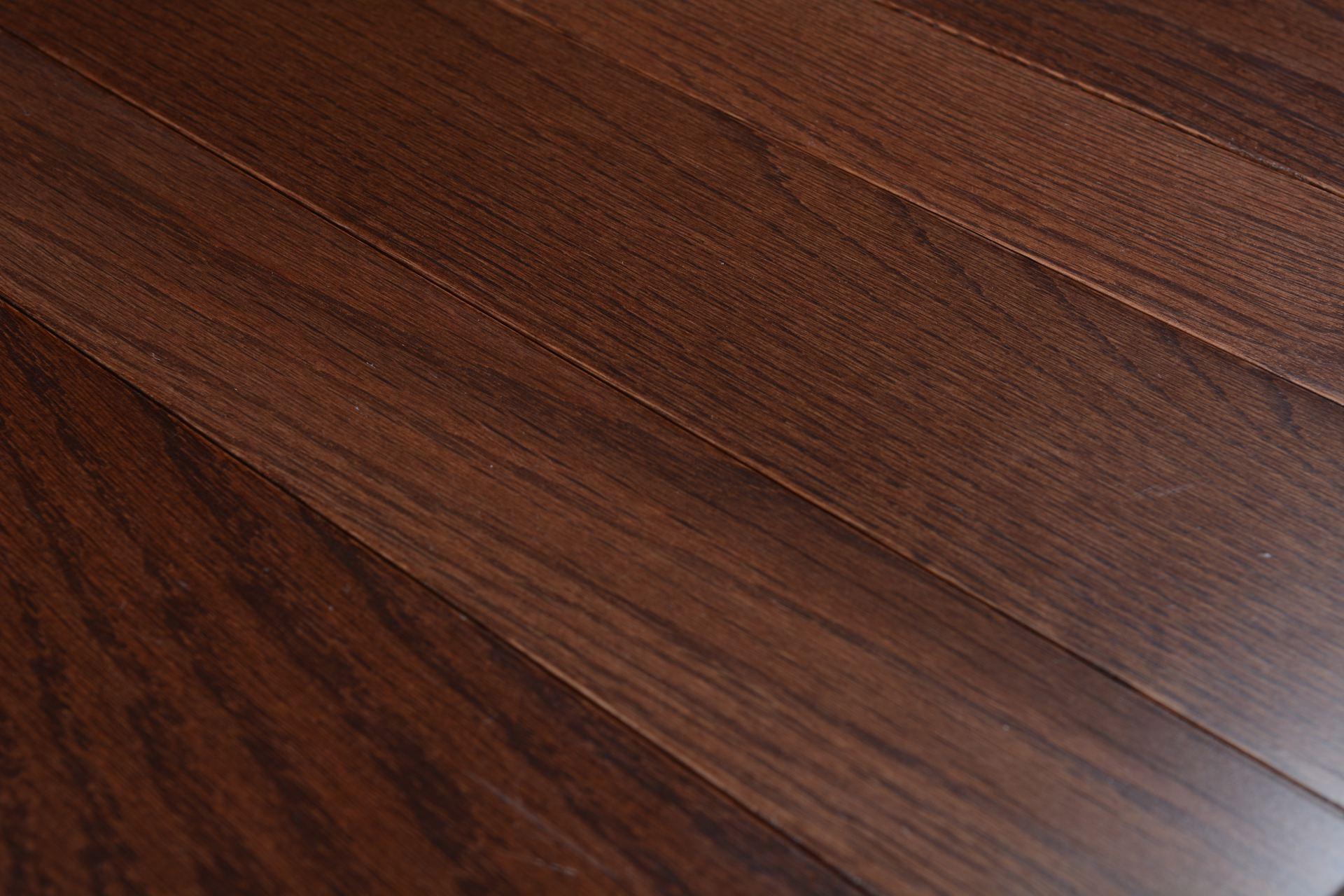 Somerset solid smooth color collection metro brown bog for Direct hardwood flooring
