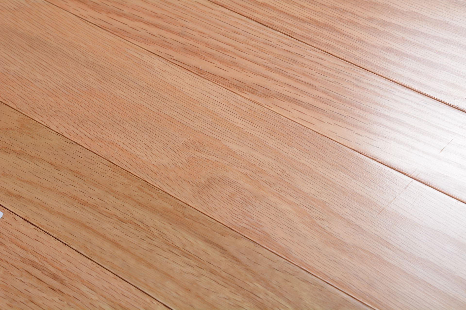 Somerset solid smooth color collection red oak natural bog for Direct hardwood flooring