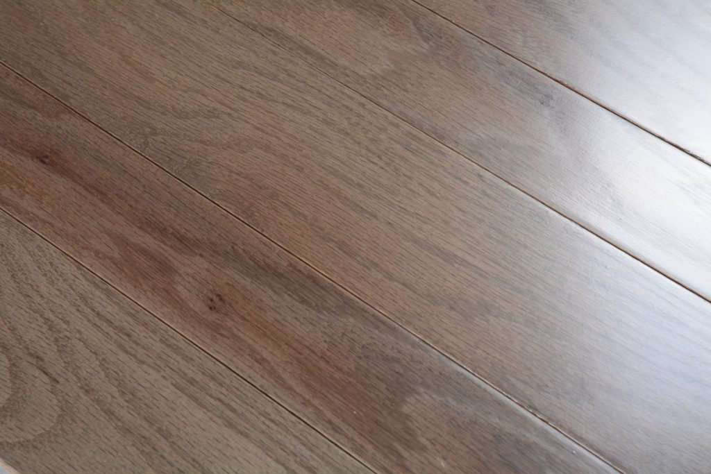 Somerset solid smooth color collection smoke bog 6124 for Direct hardwood flooring