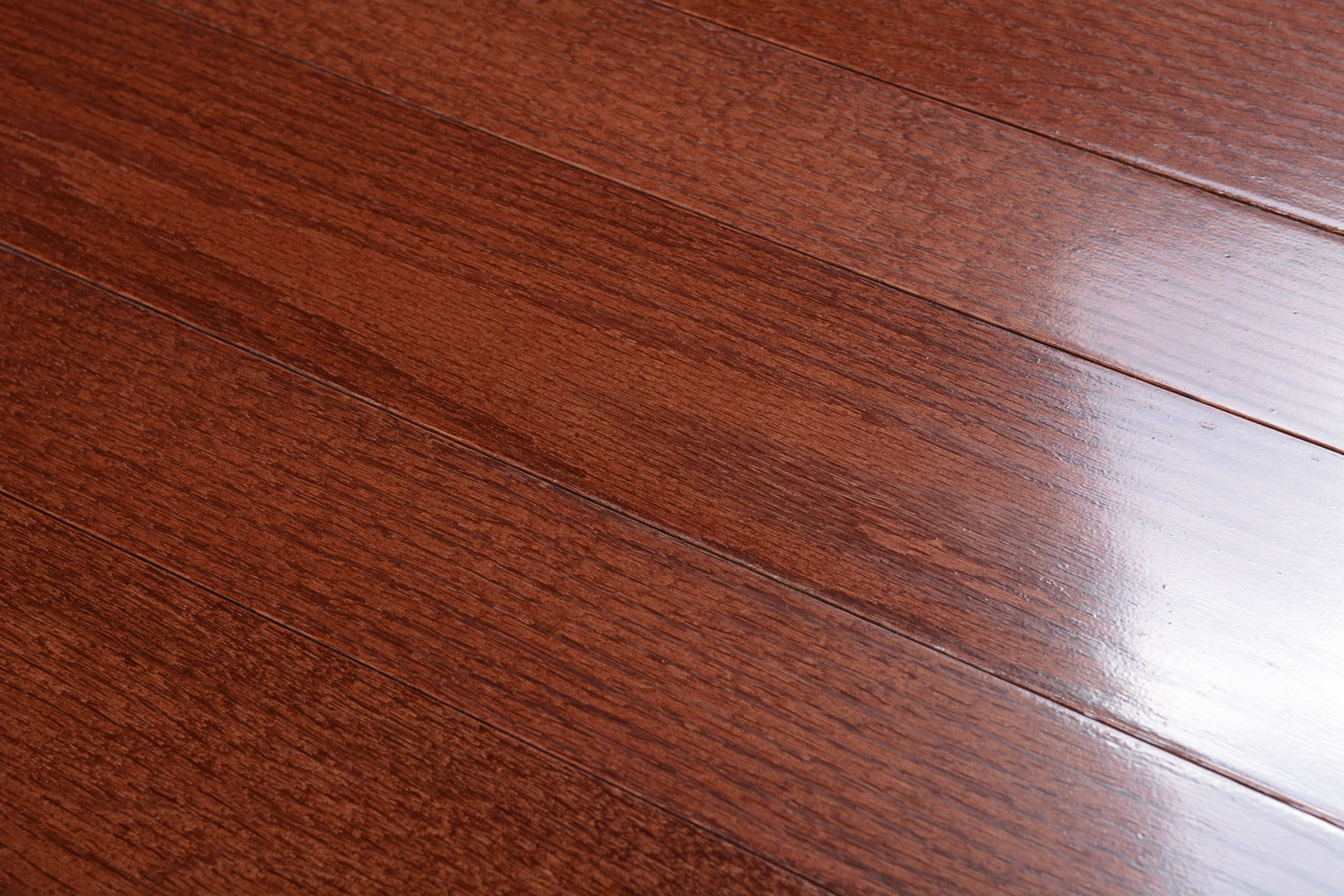 Somerset solid smooth high gloss collection cherry oak bog for Direct hardwood flooring